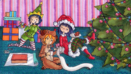 Happy Holidays~ by Sleepy17