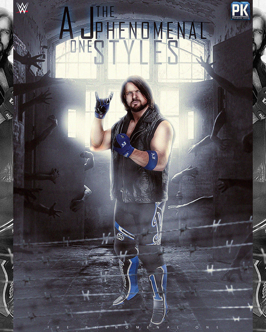 Aj Styles 2017 Picture By PrabhatKing01 On DeviantArt