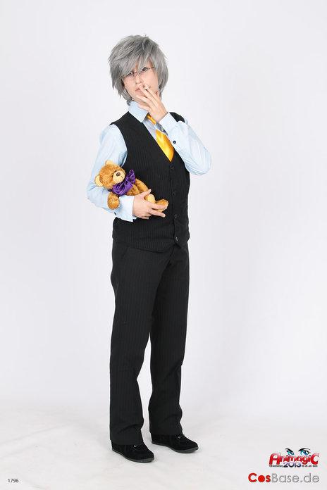 Usami Akihiko cosplay by Naarachen