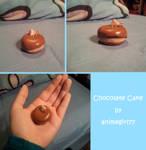 Chocolate Cake - Polymer Clay