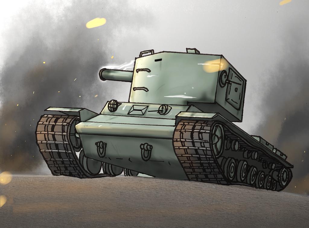 Kv-2 by henganskater