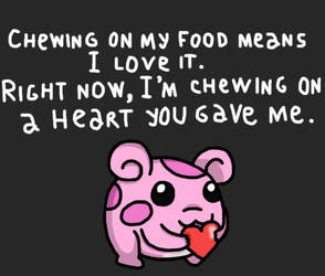 Okeemon wishes you happy Valentine's Day! by RedViolentLove