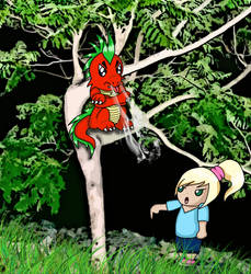 My dragon won't listen to me by RedViolentLove