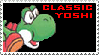 Classic Yoshi Stamp by VVraith