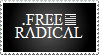 Free Radical Stamp by VVraith