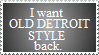 Old Detroit Style Stamp by VVraith