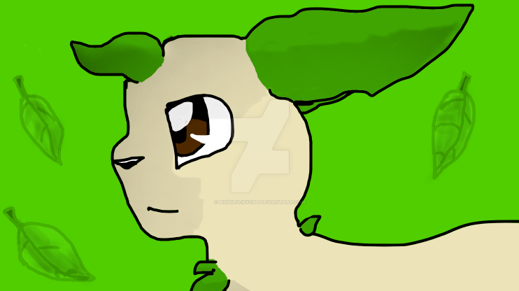 Leafeon by Bindiluckycat