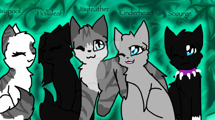 Top 5 Favorite Warrior cats! by Bindiluckycat