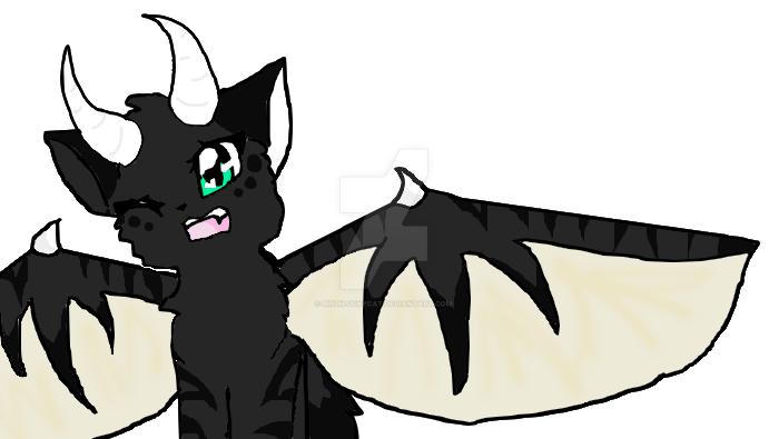 Cat Dragon by Bindiluckycat