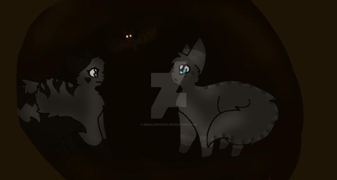 A Dark Cave by Bindiluckycat