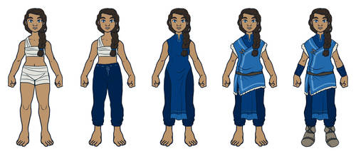 Water Tribe // costume design by silverwing66