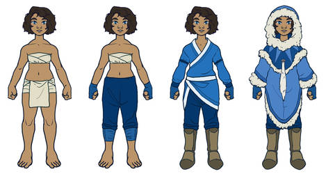 Water Tribe // costume design 2 by silverwing66