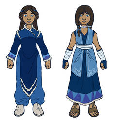 Water Tribe // costume design 3 by silverwing66