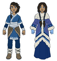 Water Tribe // costume design 4 by silverwing66