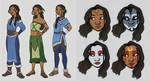 Katara - costume concepts 1 by silverwing66