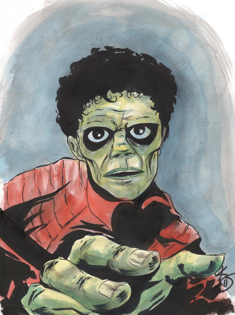 Michael Jackson Thriller by TreeBeerdy