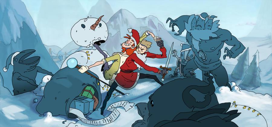 Epic christmas by ShikaruOC