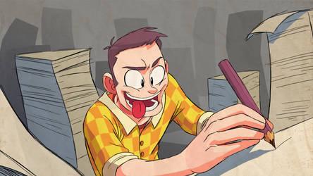 Animators portrait. by ShikaruOC