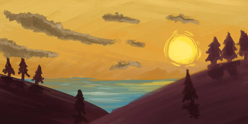 20 Min Speed Paint Made Past 4am by CatofDoom