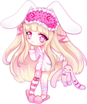 ~Bunny :: Chibi Commission~