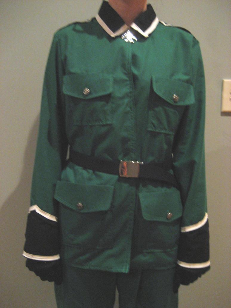 Hetalia- Germany's Jacket by cosplaykat
