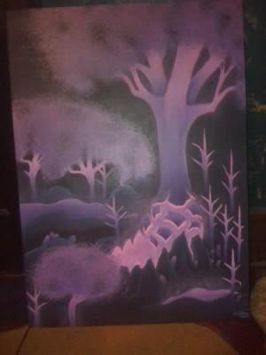 Painting of Crystalsong Forest by adryan-jenkins
