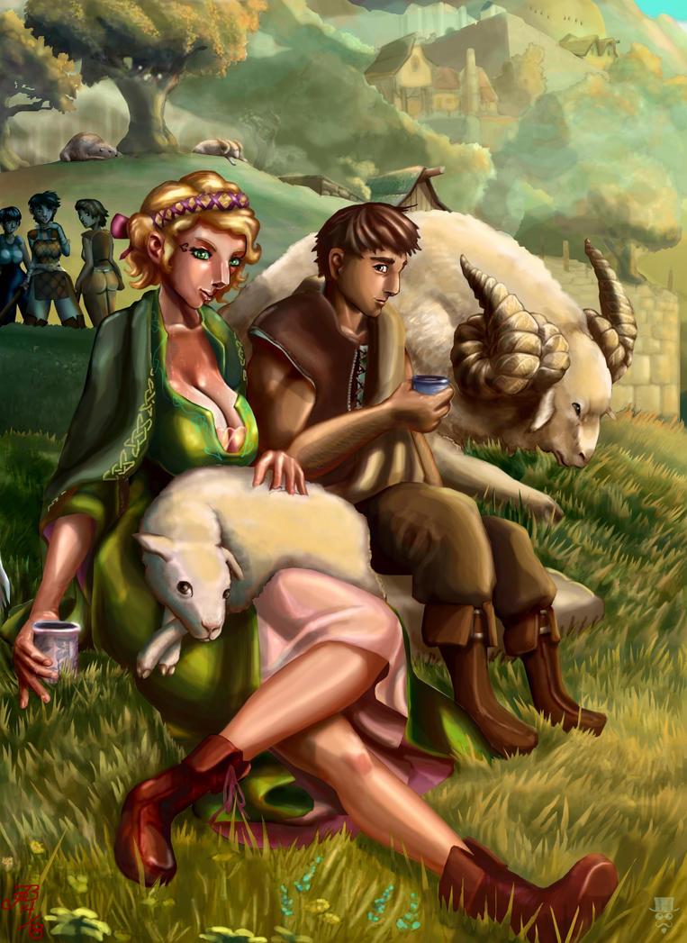 Lilianna's Little Lamb by JBergen1910