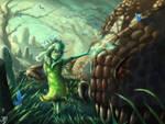 The Green Girl by JBergen1910
