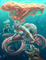 Mermaid 01 by JBergen1910