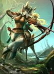 Two Archers by JBergen1910