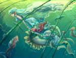 Family of Eels by JBergen1910