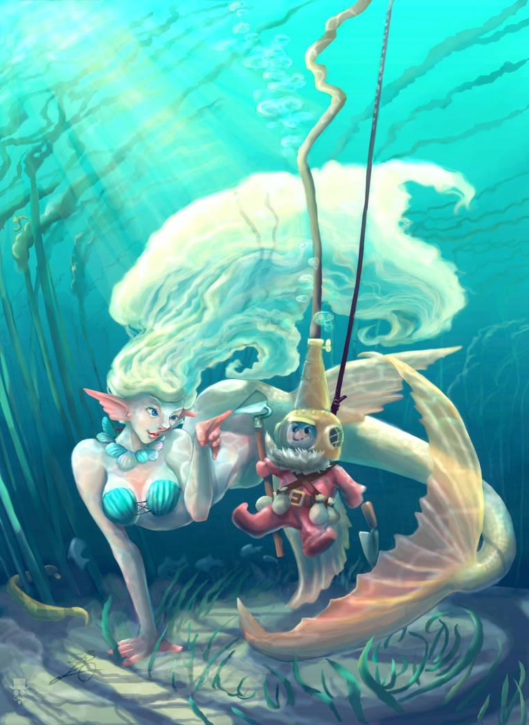 Gnome Diver