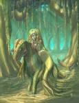 Kelpie and Kelp-maid by JBergen1910