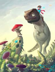 Lost Mushroom Colony