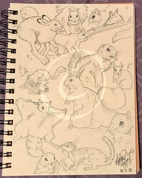 Lilly-Lamb Sketchbook 2018 Part 32