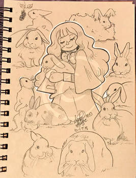 Lilly-Lamb Sketchbook 2018 Part 34