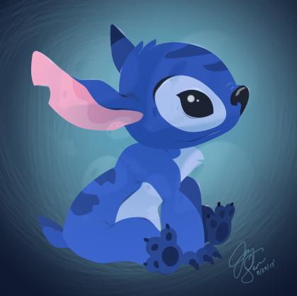 Stitch by locomocoyum