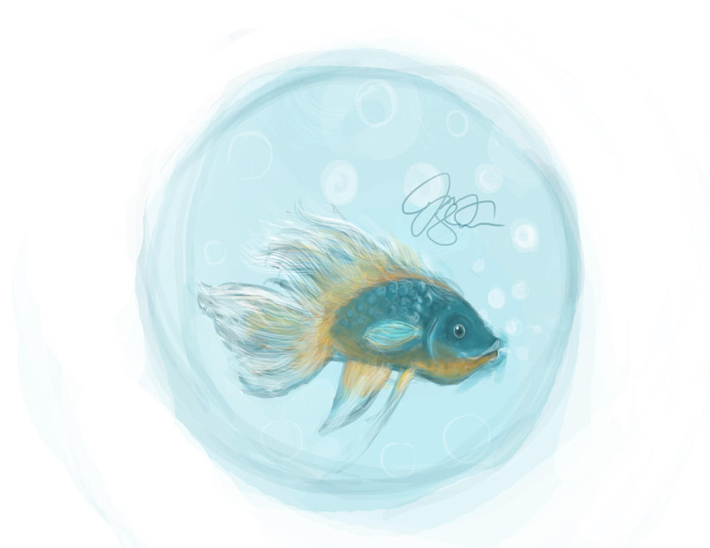 Treet U Beta Fish by locomocoyum