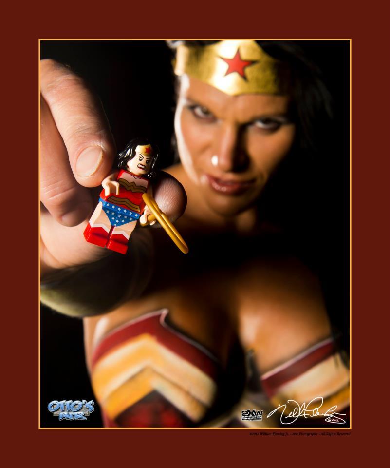 wonder woman lego by ottos air