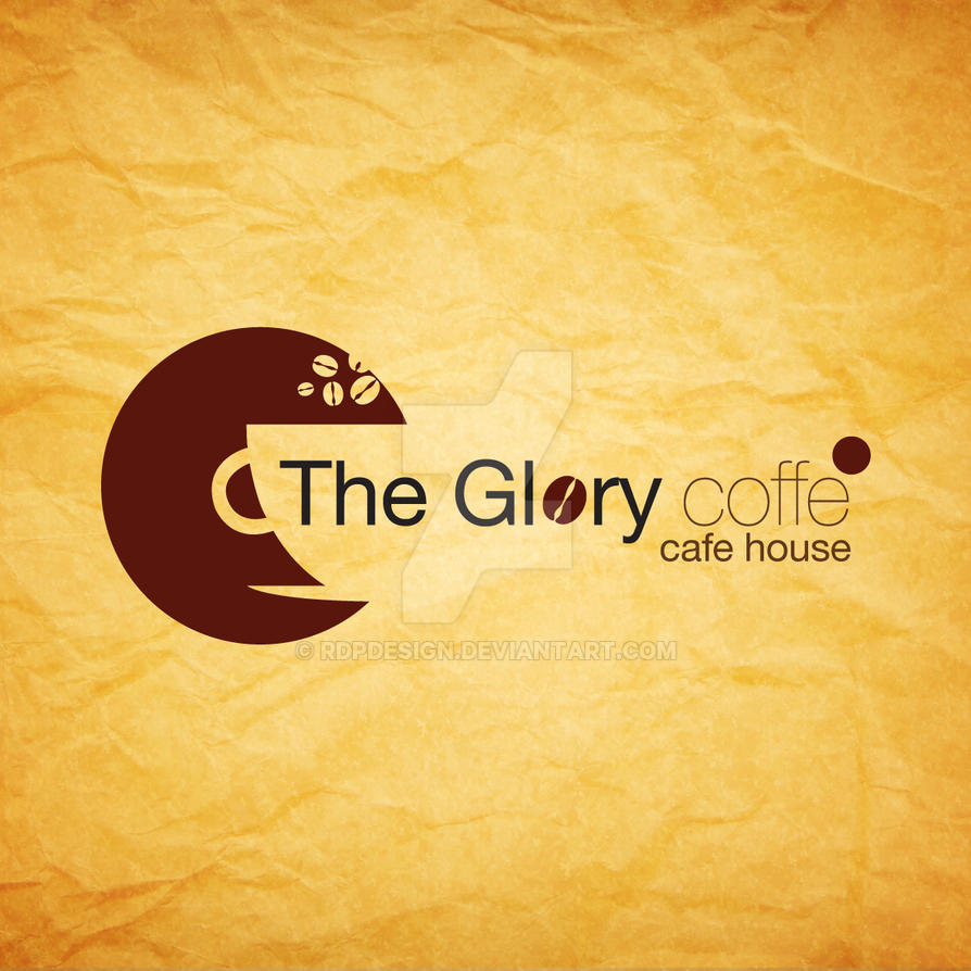 logo design the glory coffee by rdpdesign on deviantart
