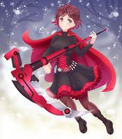 .: Ruby Rose RWBY :. by Ricuu
