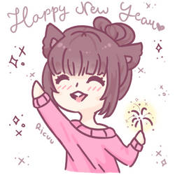 .: Happy New Year!! :. by Ricuu
