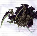 Tyranid Carnifex Coloured