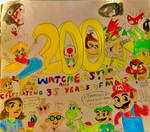 200+ Watchers! and Celebrating 35 years of Mario!