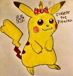 Isabelle the Pikachu