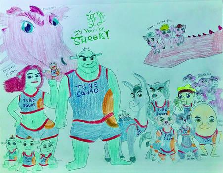 Shrek joins the Tune Squad + 20th Anniversary