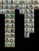 Ogre Battle 64 Classes by ArmoredKangaroo