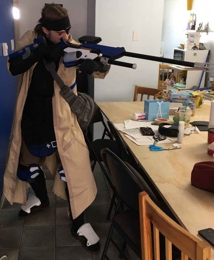 Ana cosplay almost done by ArmoredKangaroo