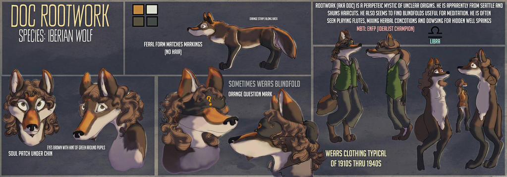 Doc Rootwork Reference Sheet by CanisHenosis