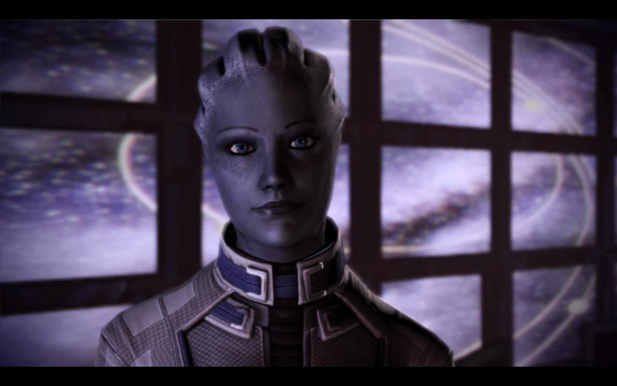 Smiling Liara T'Soni by hollow227